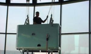 internal cradle window cleaning