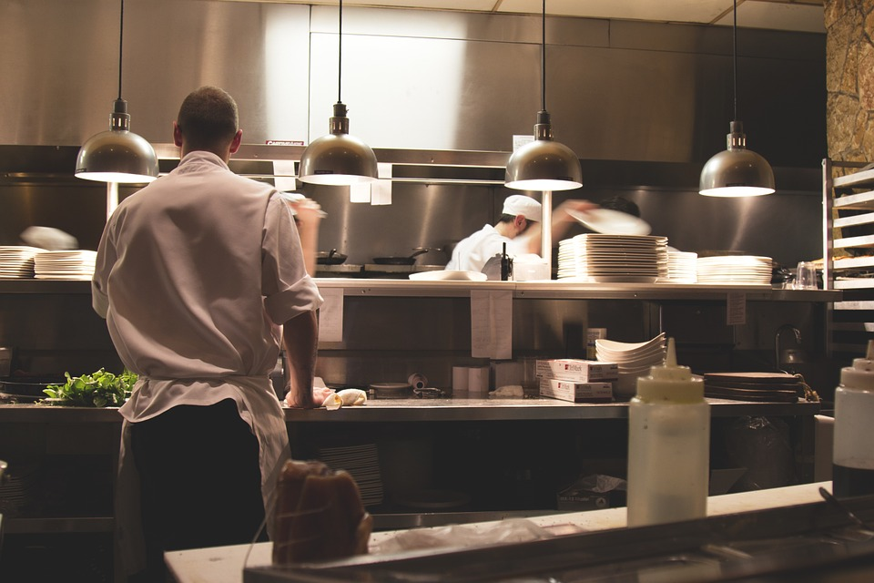 deep clean your catering premises