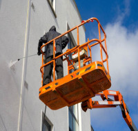 cherry picker window cleaning london