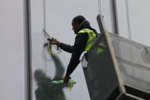 cradle window cleaning