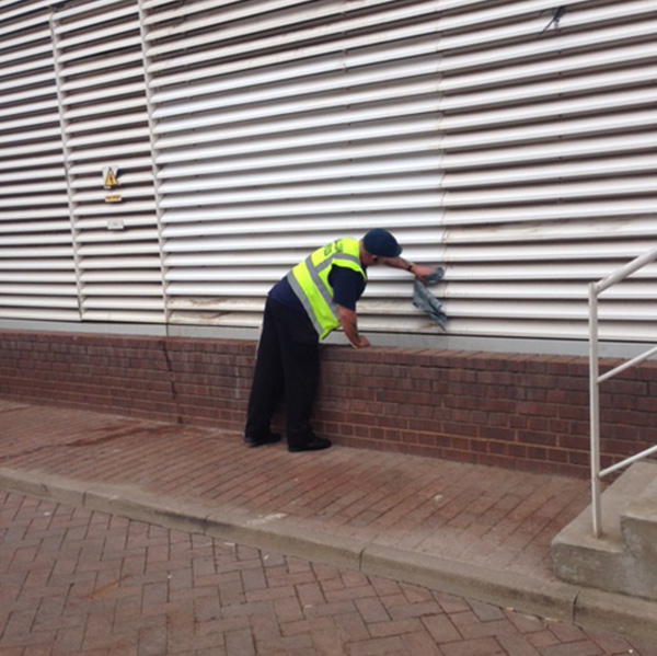 cladding cleaning london