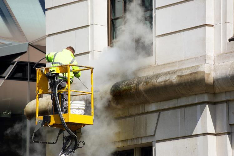 external facade cleaning