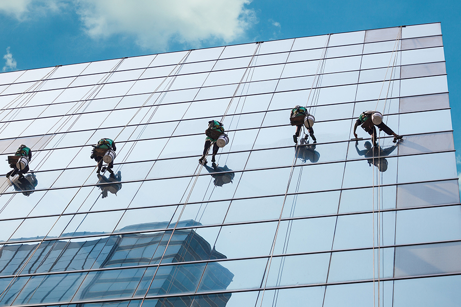Image result for Abseiling Cleaning