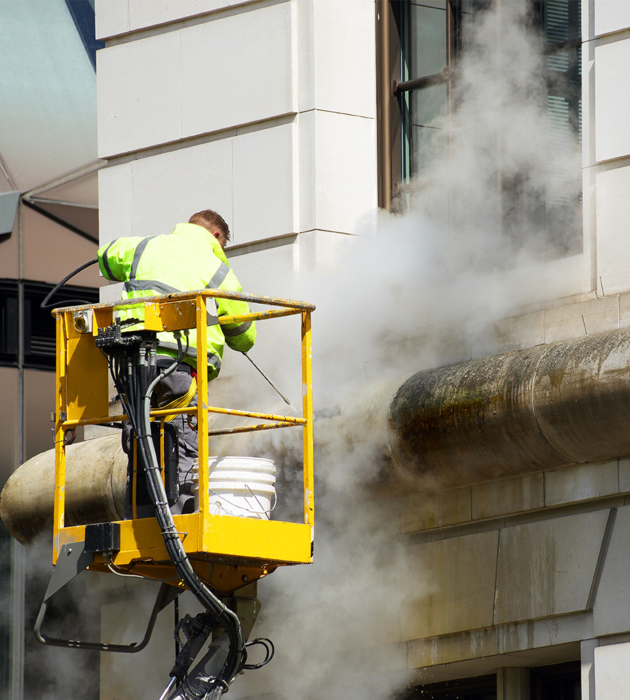 pressure washing london